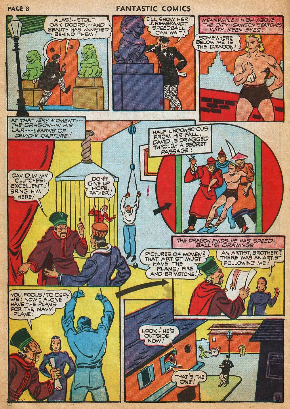 Read online Fantastic Comics comic -  Issue #22 - 10