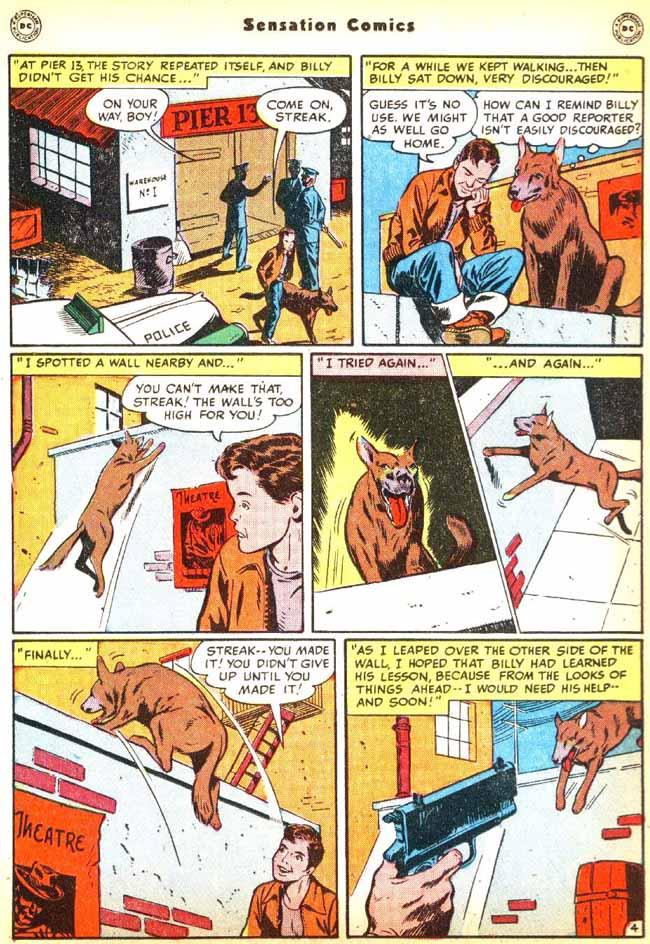 Read online Sensation (Mystery) Comics comic -  Issue #92 - 20