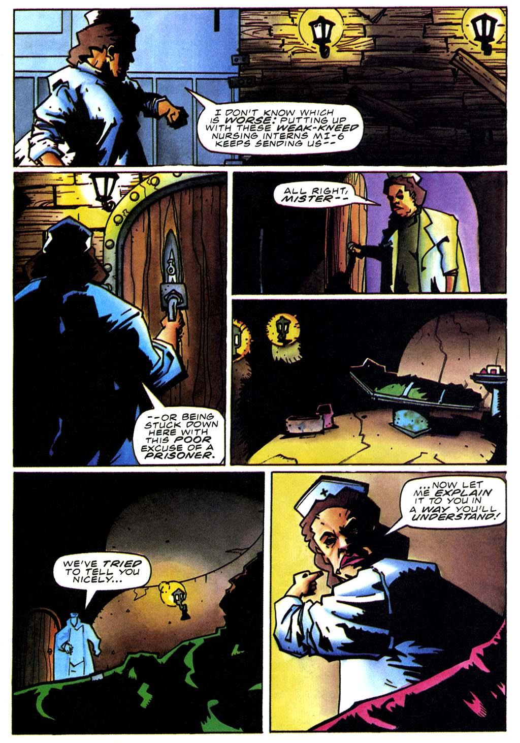 Read online Secret Weapons comic -  Issue #20 - 9