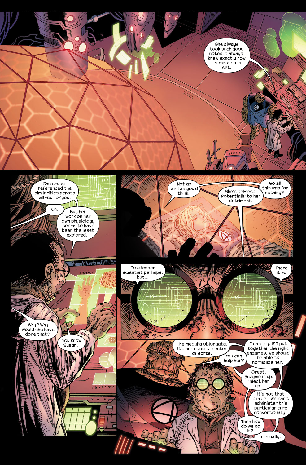 Read online Ultimate Fantastic Four (2004) comic -  Issue #58 - 23