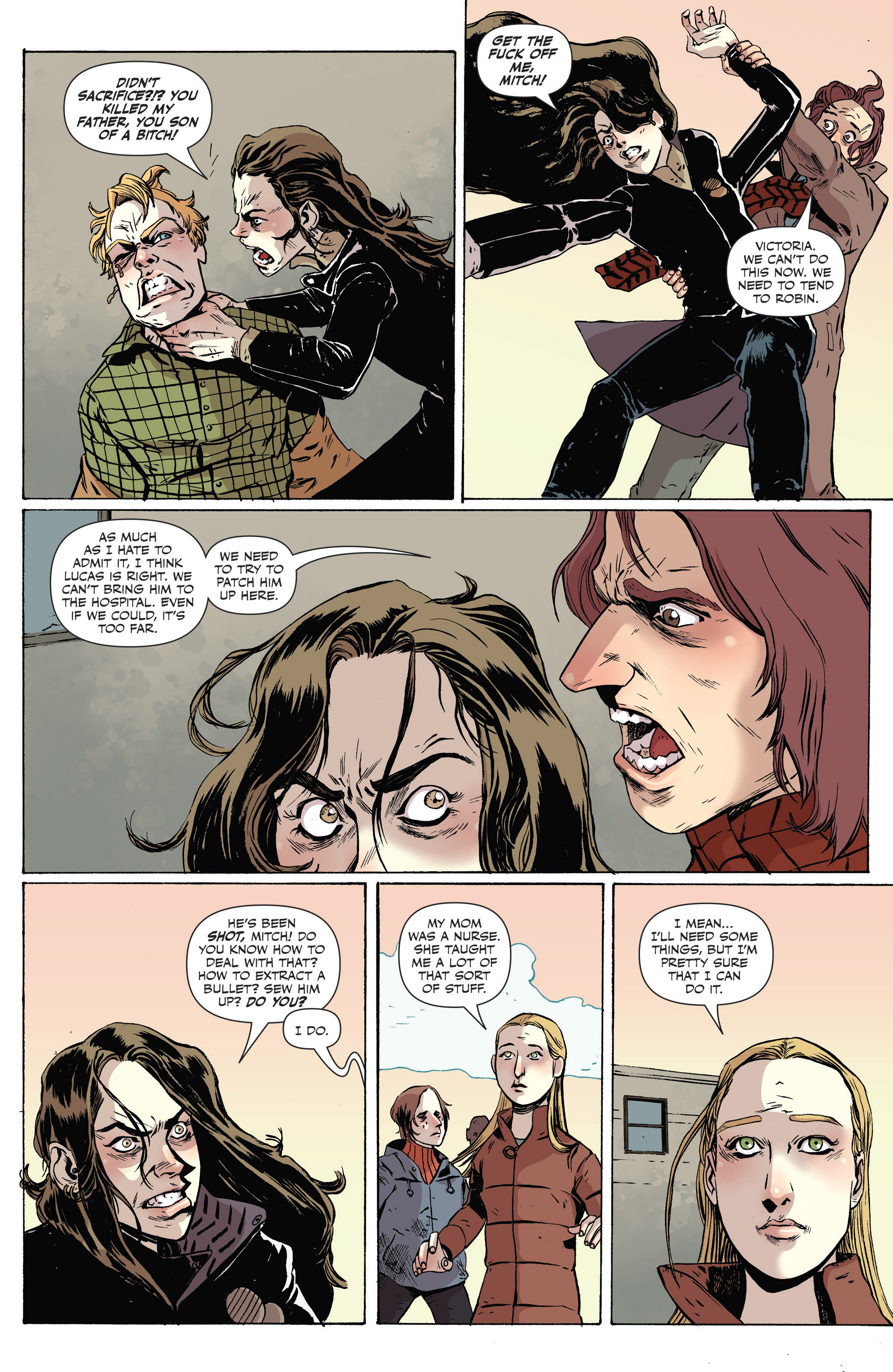 Read online Sheltered comic -  Issue #8 - 12