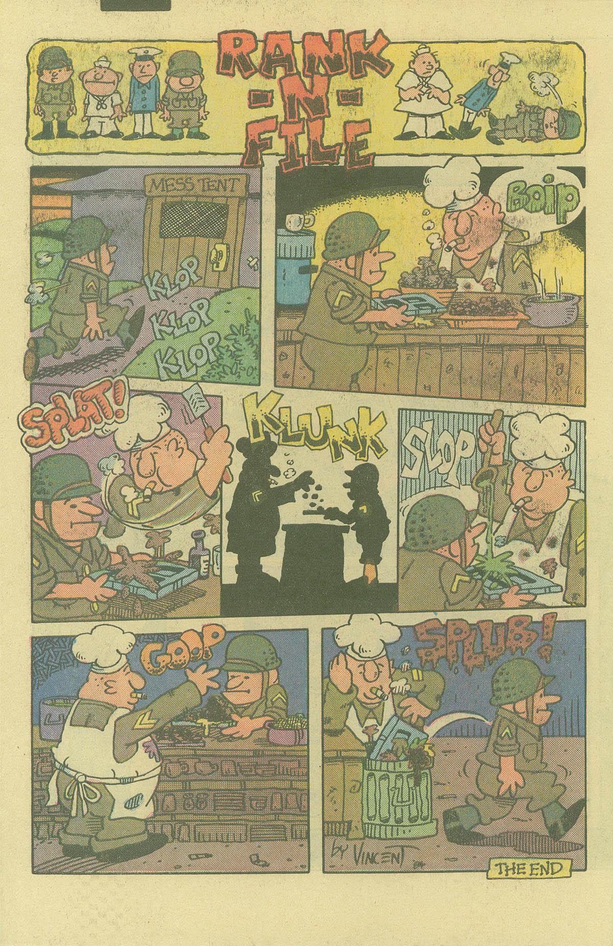 Read online Sgt. Rock comic -  Issue #402 - 32