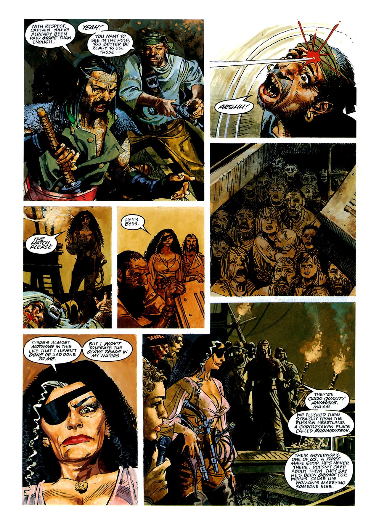 Read online Nikolai Dante comic -  Issue # TPB 3 - 40