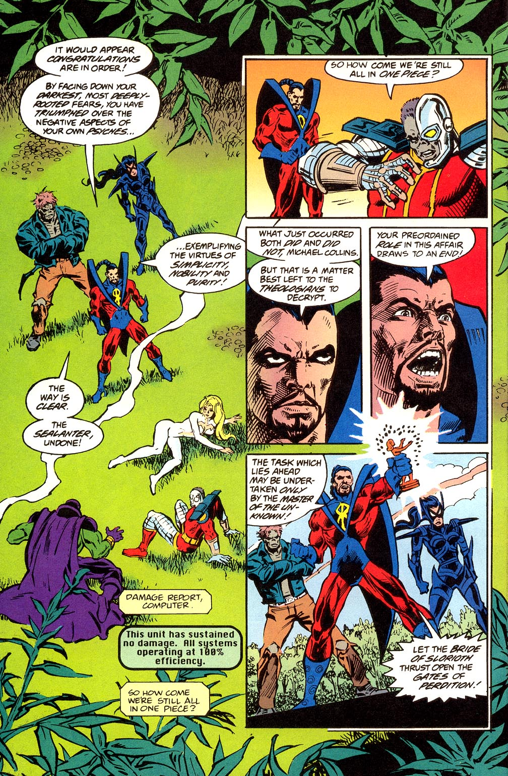 Read online Secret Defenders comic -  Issue #23 - 20