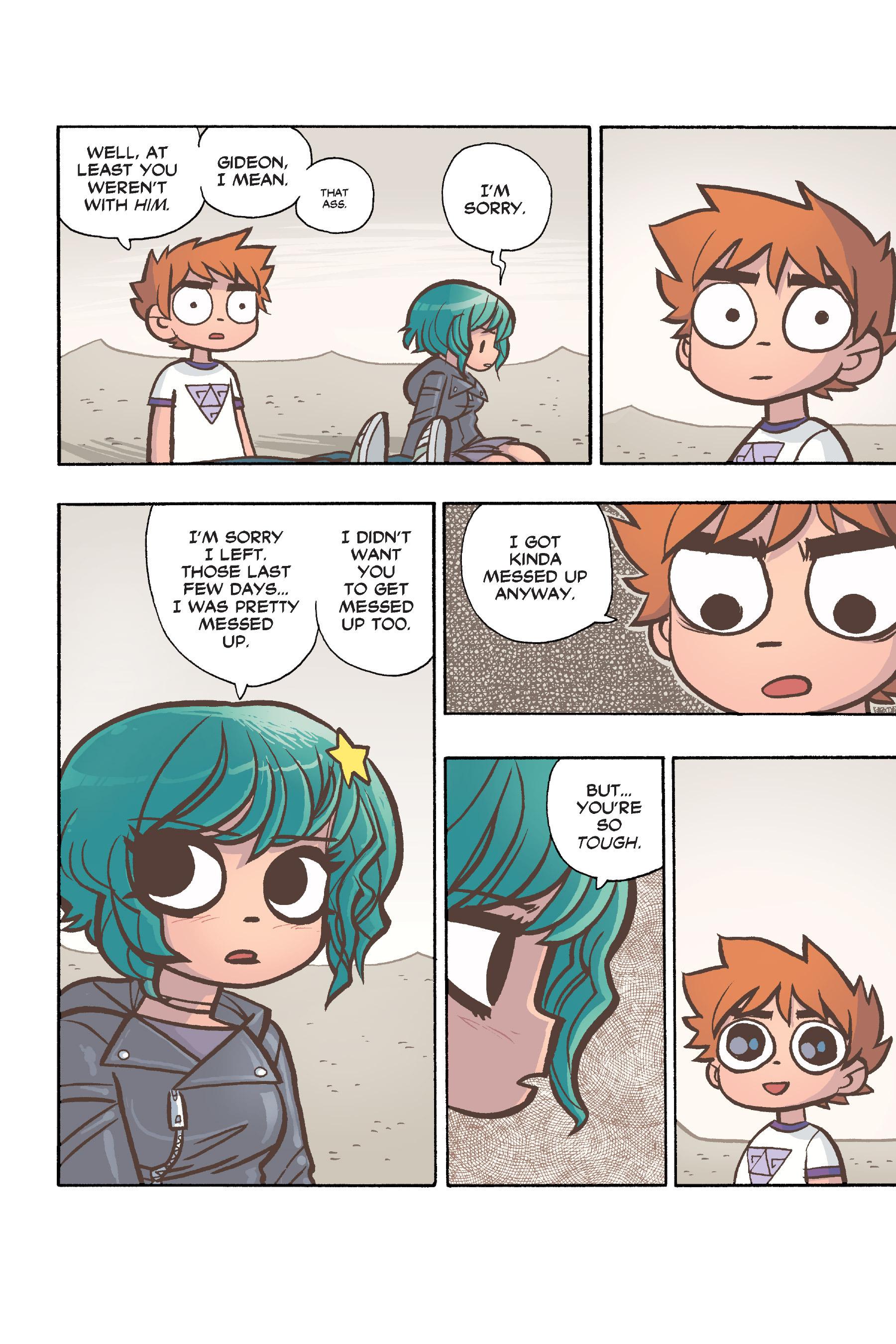 Read online Scott Pilgrim comic -  Issue #6 - 135