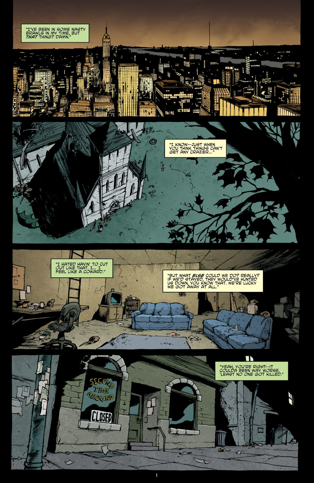 Read online Teenage Mutant Ninja Turtles: The IDW Collection comic -  Issue # TPB 4 (Part 1) - 7