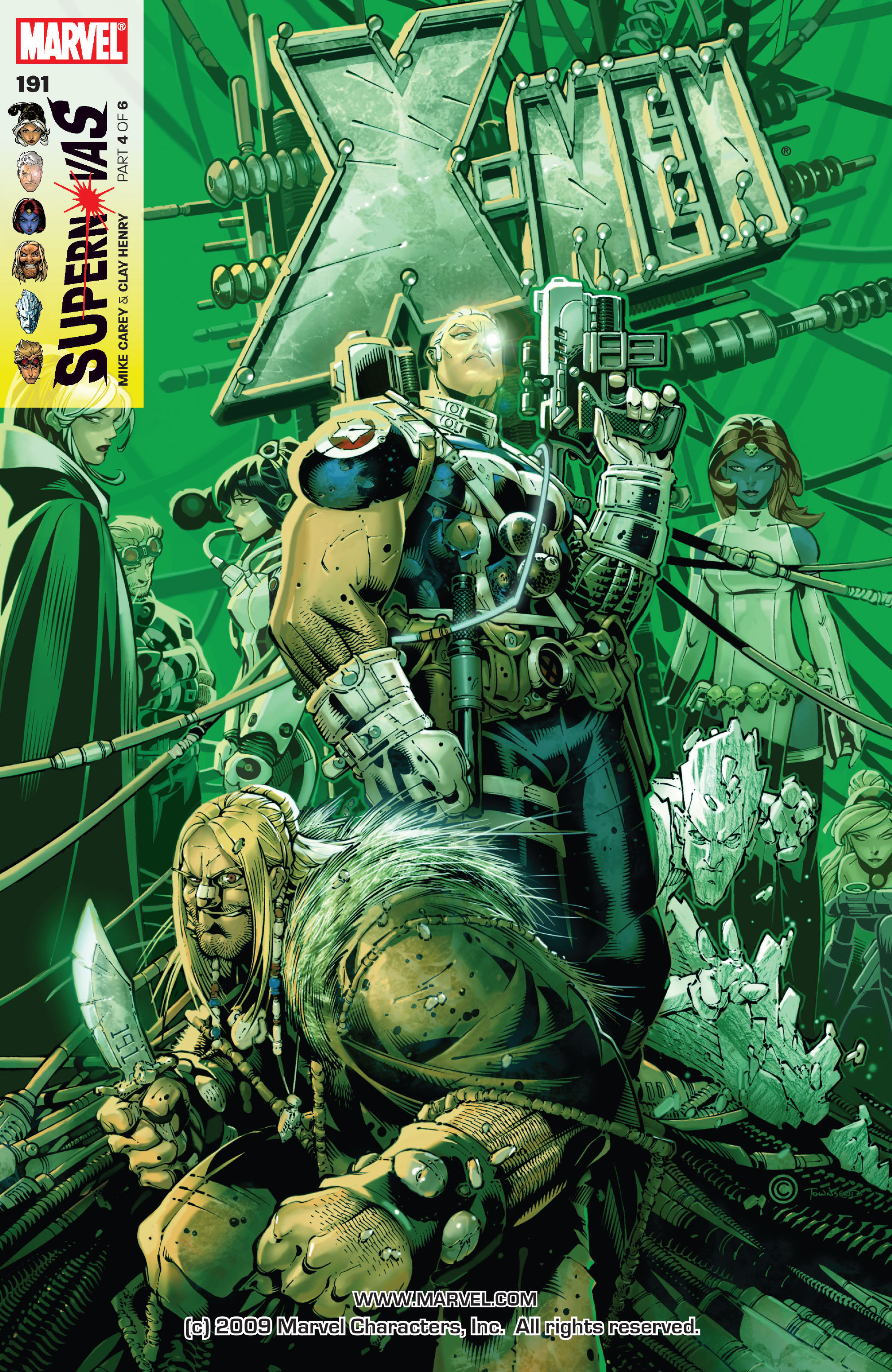 X-Men (1991) 191 Page 0