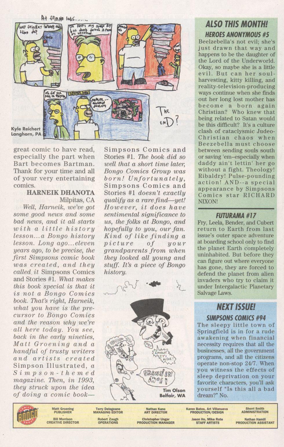 Read online Simpsons Comics comic -  Issue #93 - 30