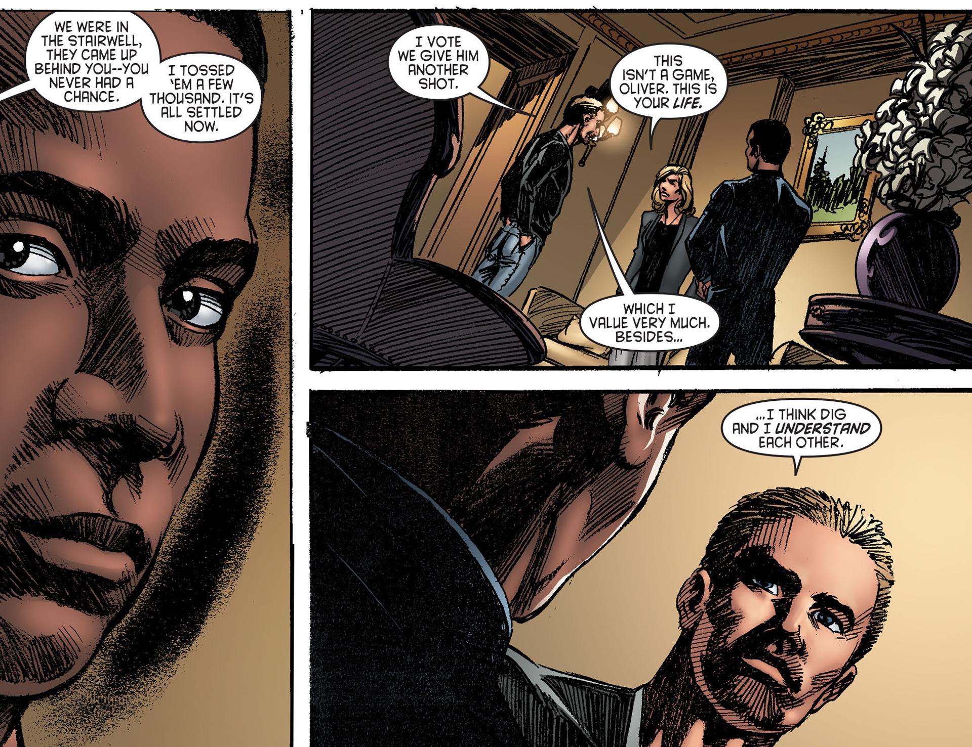 Read online Arrow [II] comic -  Issue #25 - 8