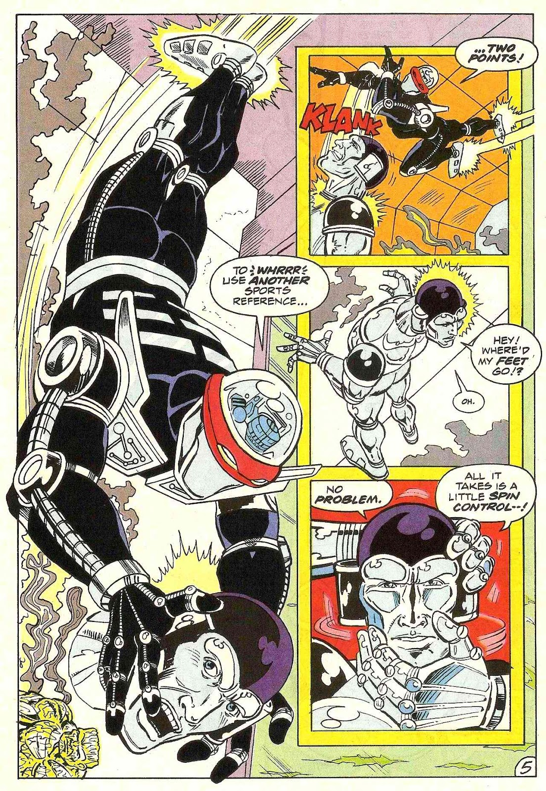 Read online Zen Intergalactic Ninja (1992) comic -  Issue #3 - 6