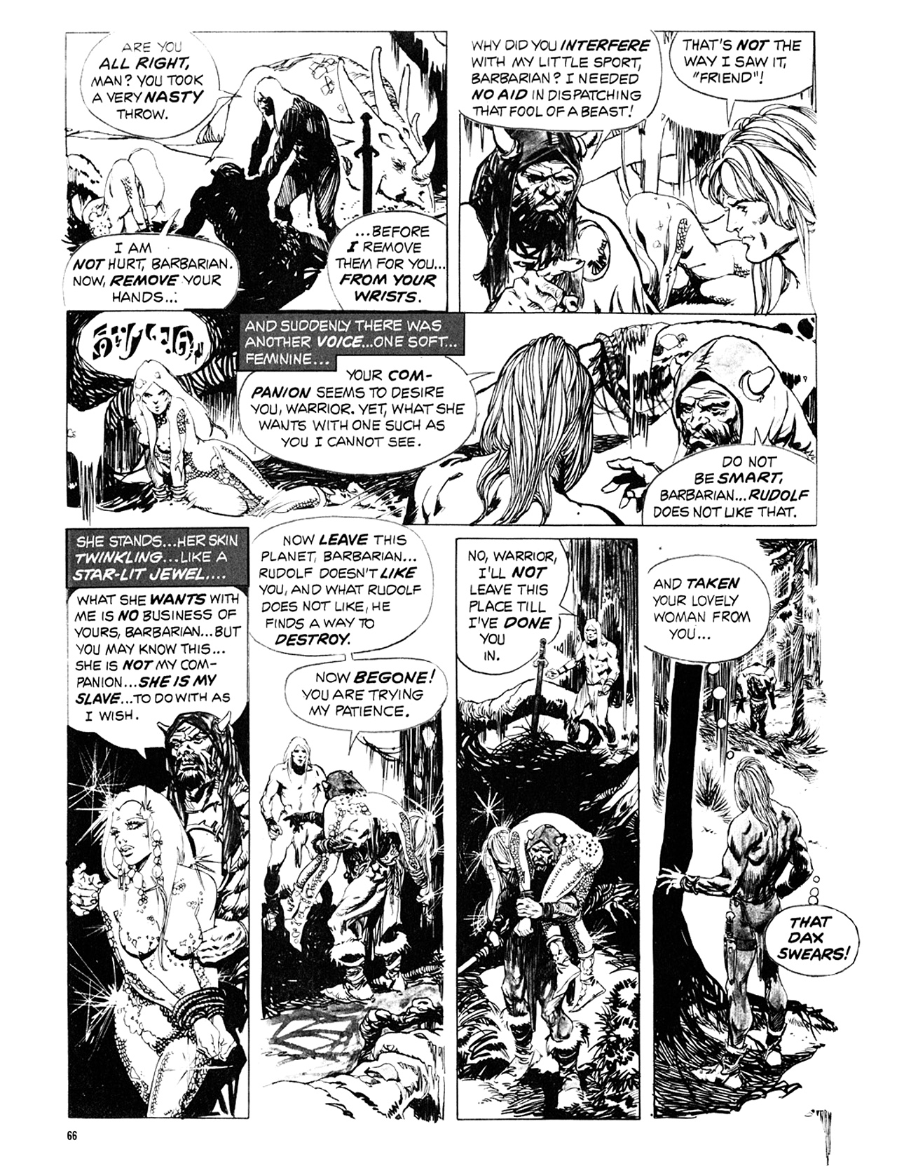 Read online Eerie Archives comic -  Issue # TPB 10 - 67