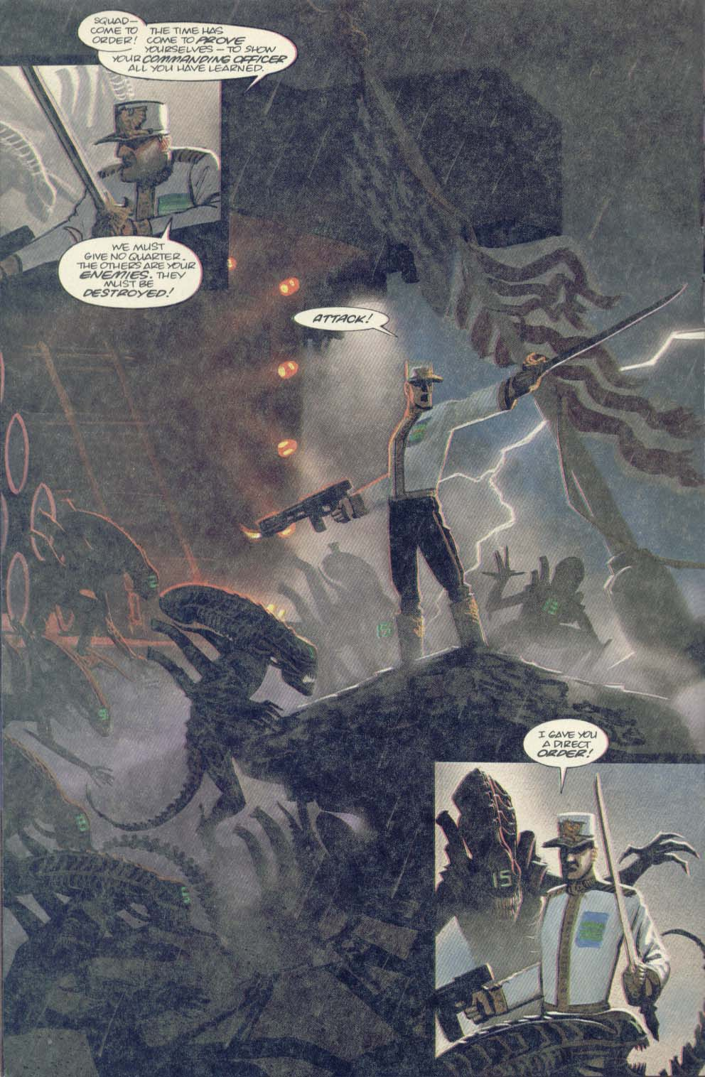Read online Aliens (1989) comic -  Issue #4 - 20