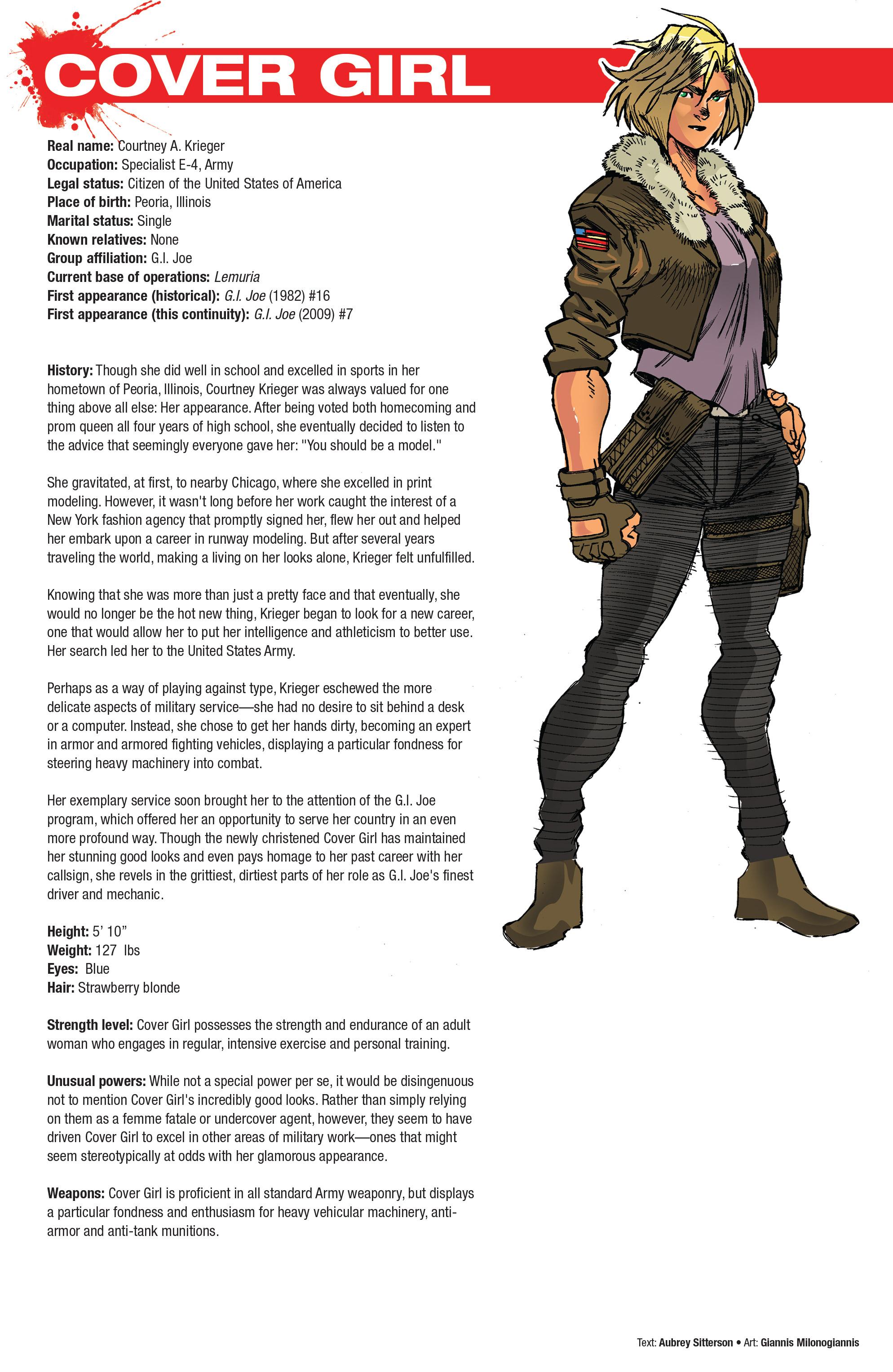 Read online Hasbro Heroes Sourcebook comic -  Issue #1 - 31