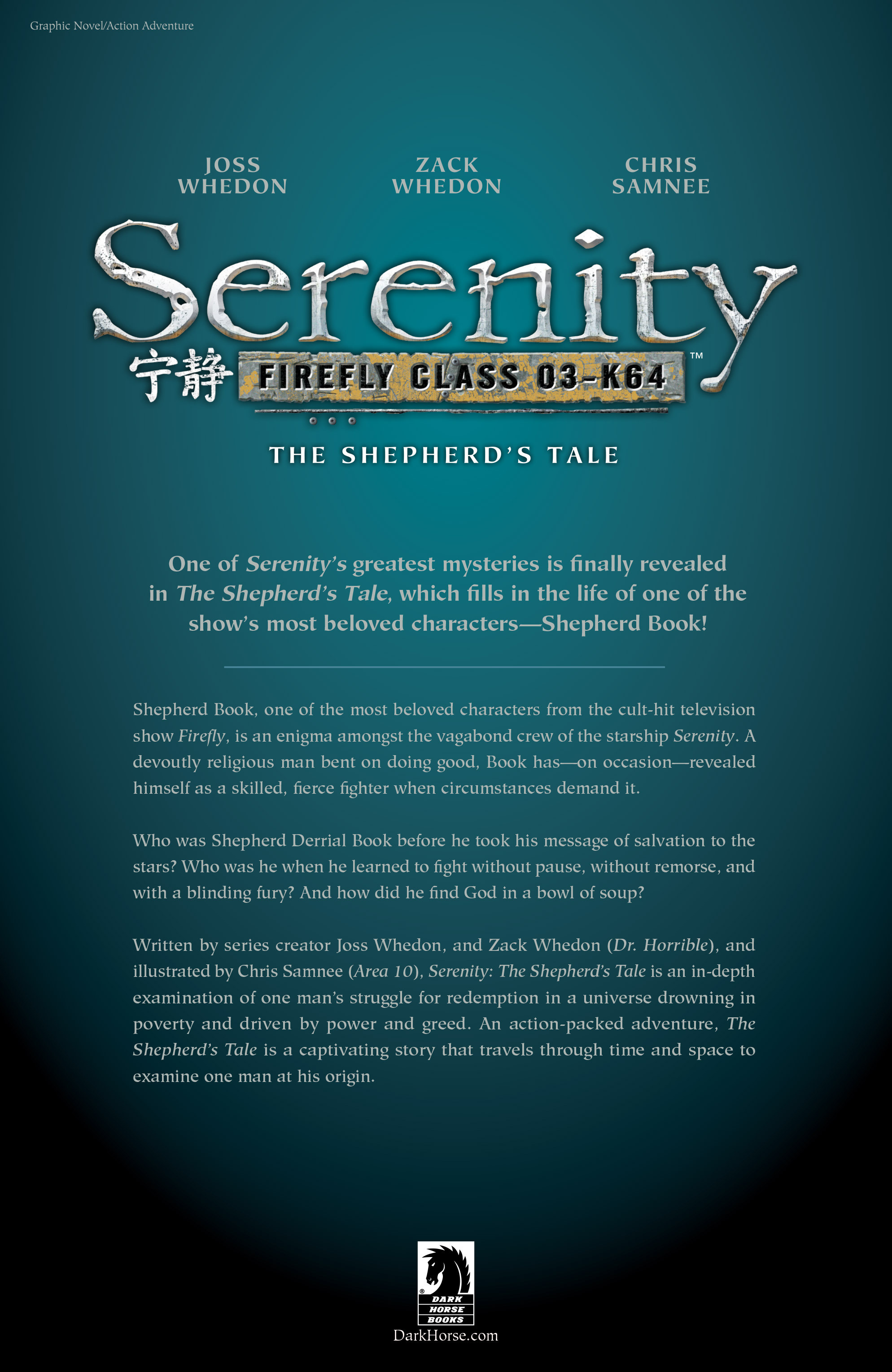Read online Serenity Volume Three: The Shepherd's Tale comic -  Issue # TPB - 58