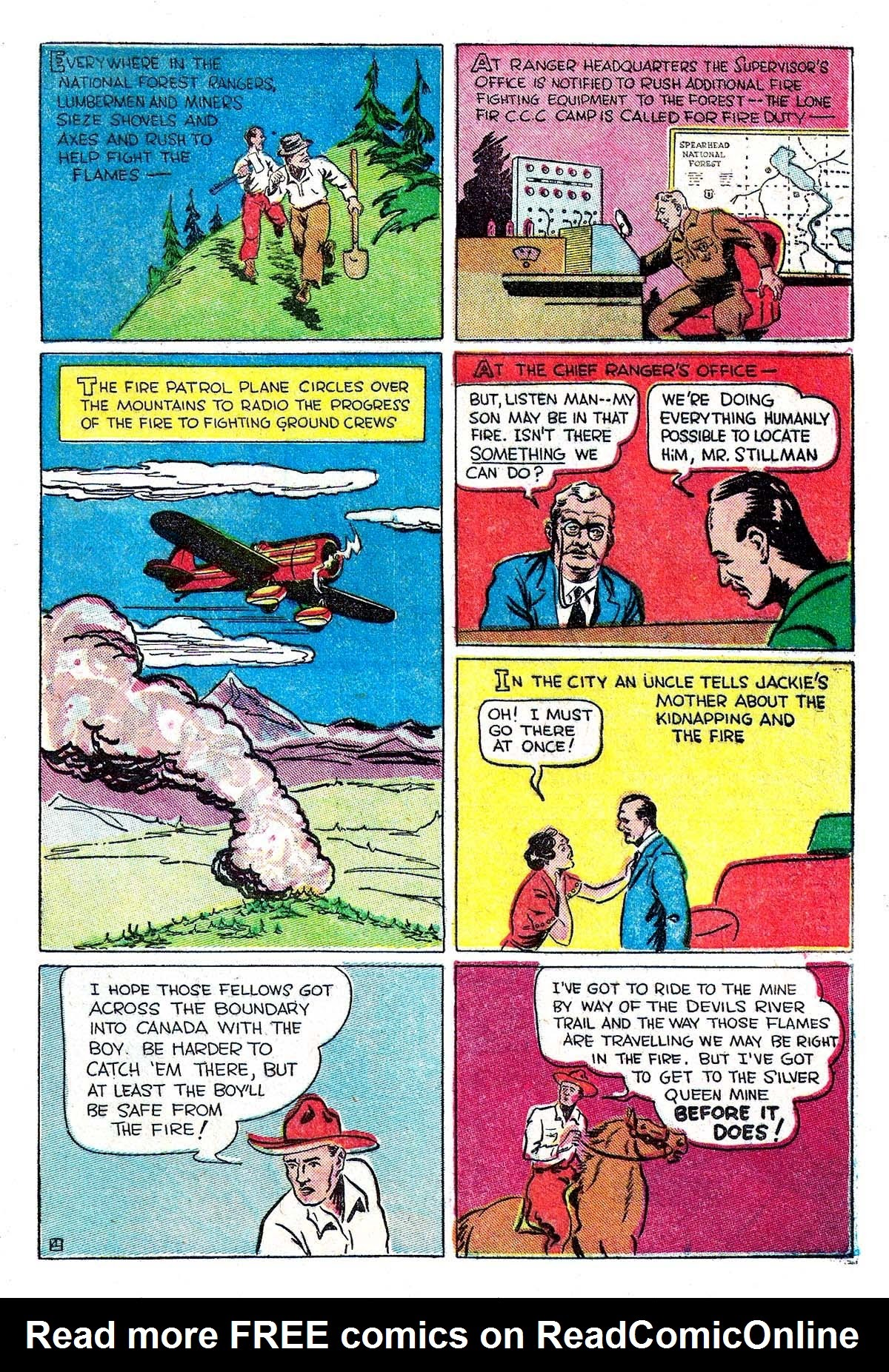 Read online Amazing Man Comics comic -  Issue #5 - 55