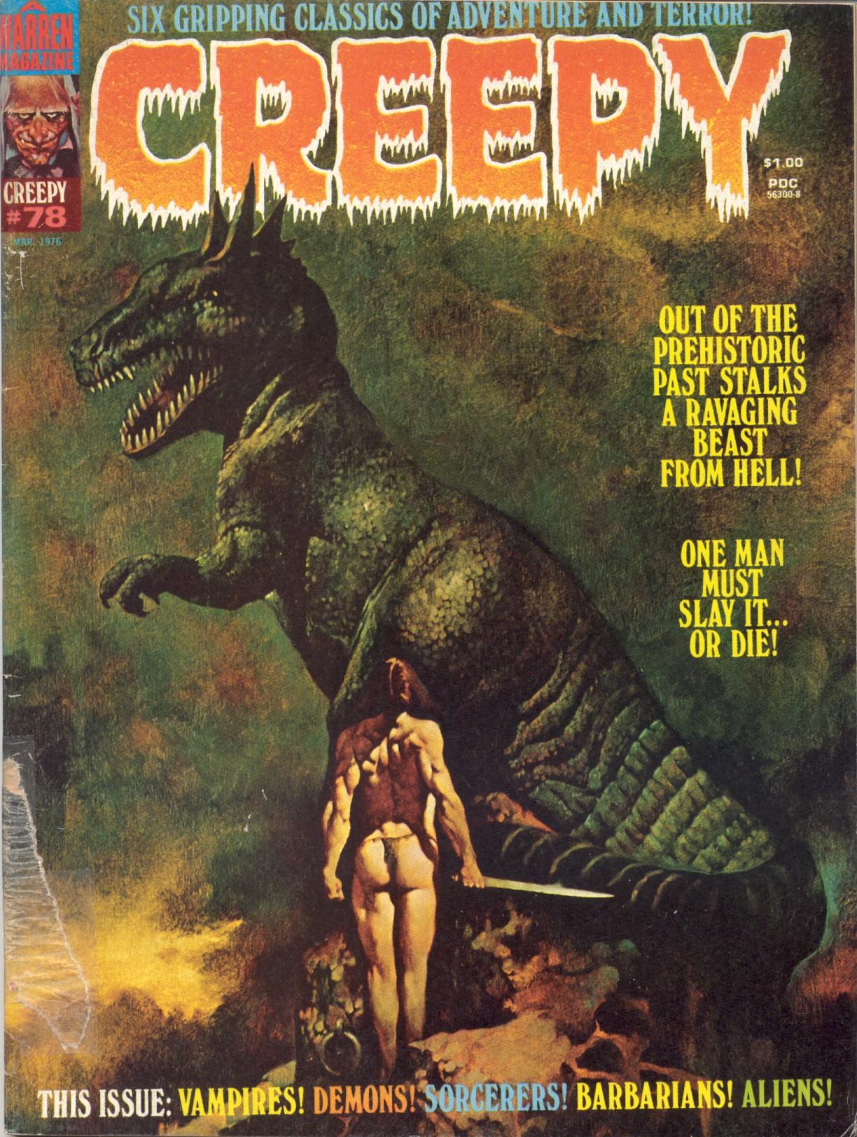 Creepy (1964) 78 Page 1