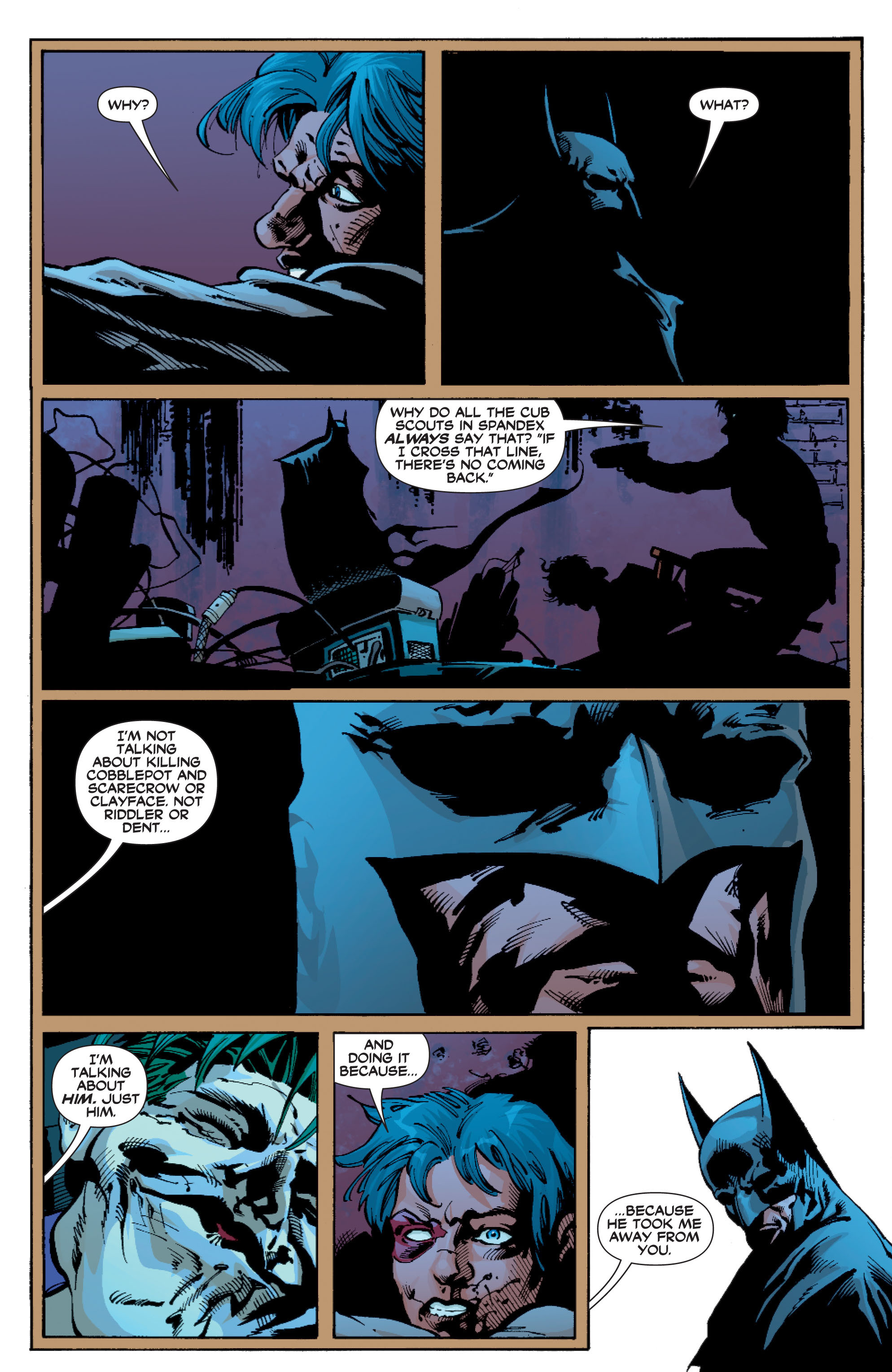 Read online Batman: Under The Red Hood comic -  Issue # Full - 309