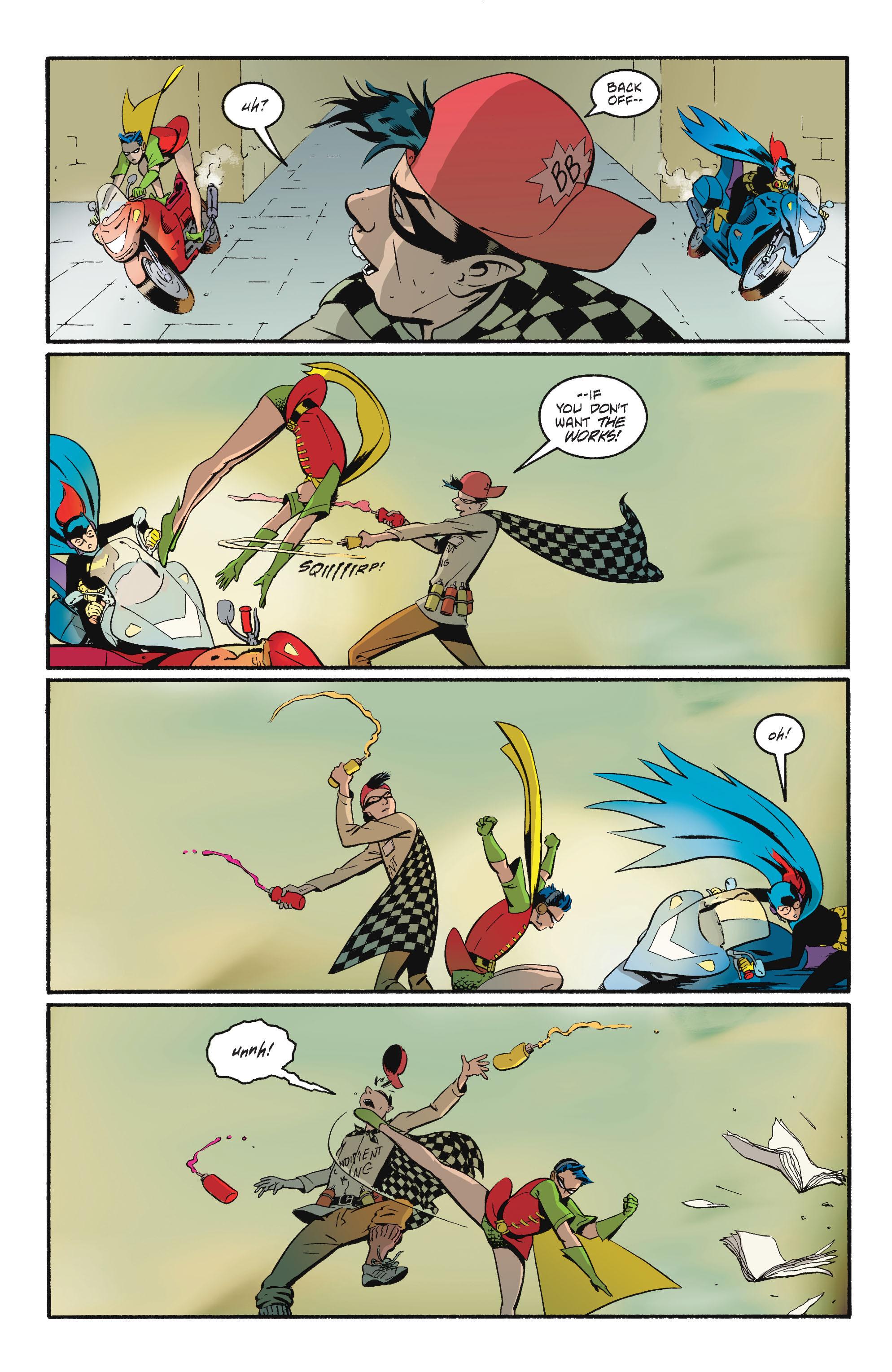 Read online Batgirl/Robin: Year One comic -  Issue # TPB 2 - 158