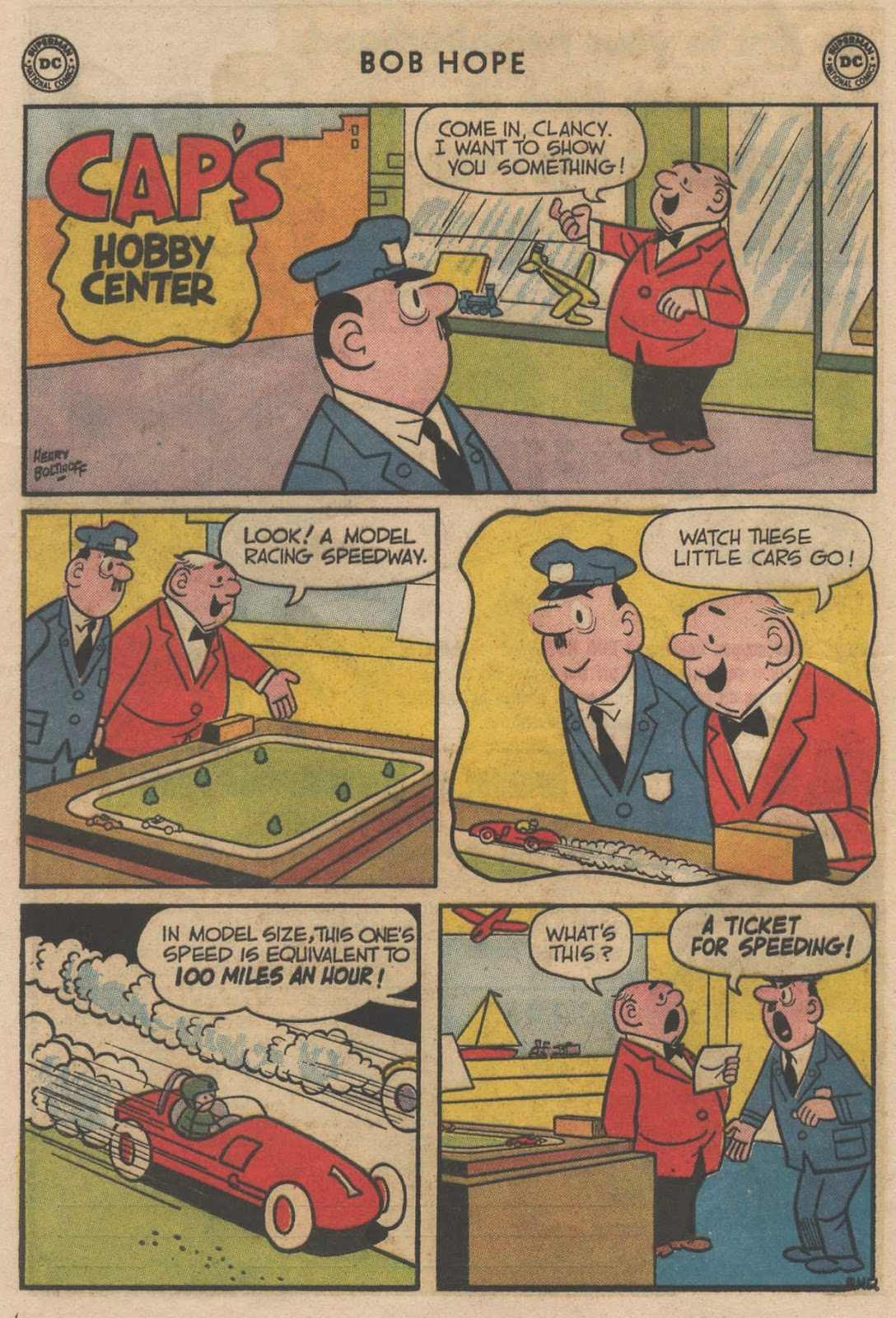 The Adventures of Bob Hope issue 90 - Page 24