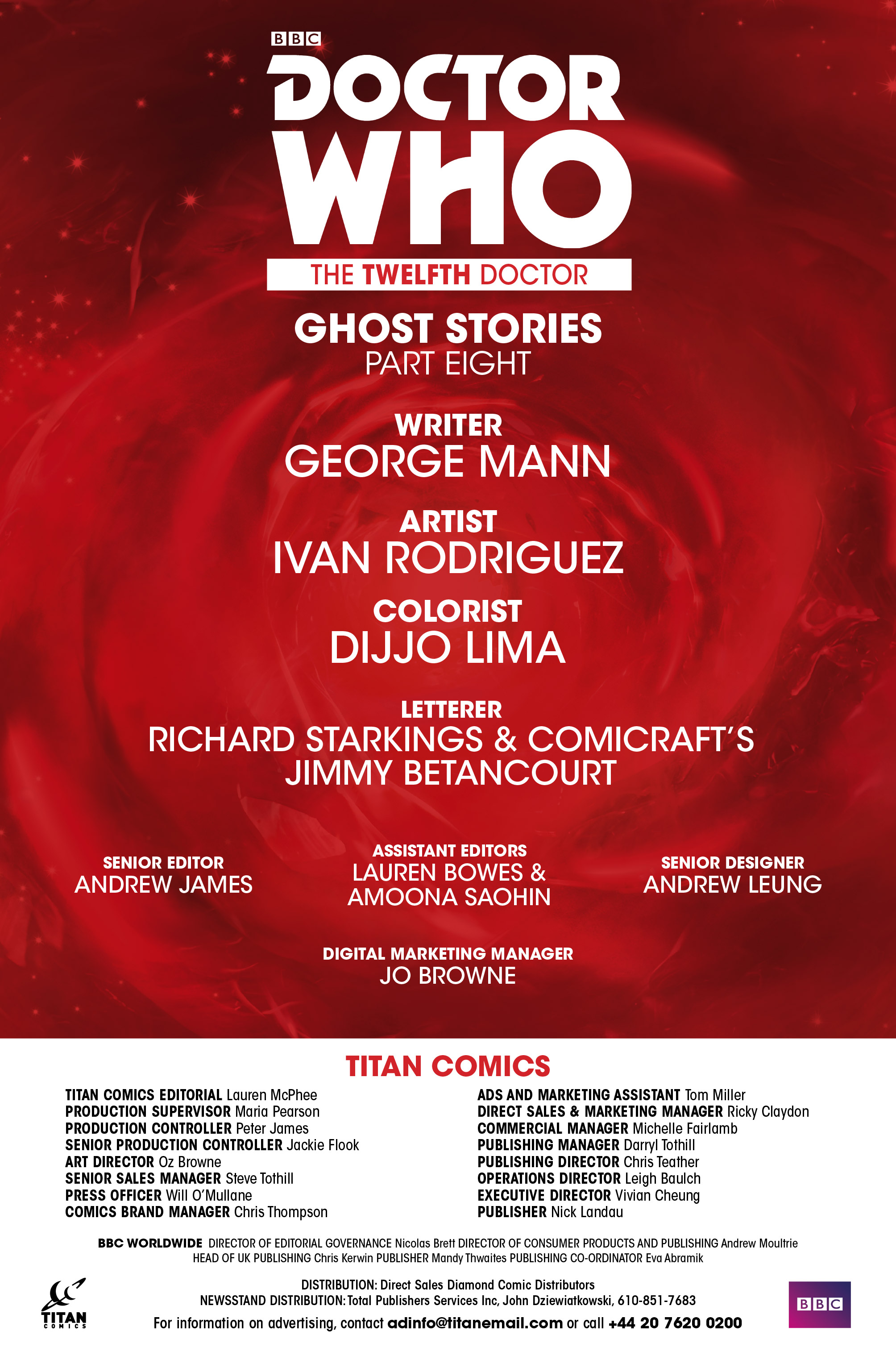 Read online Doctor Who: Ghost Stories comic -  Issue #8 - 14