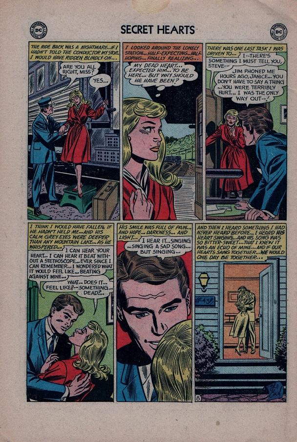 Read online Secret Hearts comic -  Issue #79 - 34