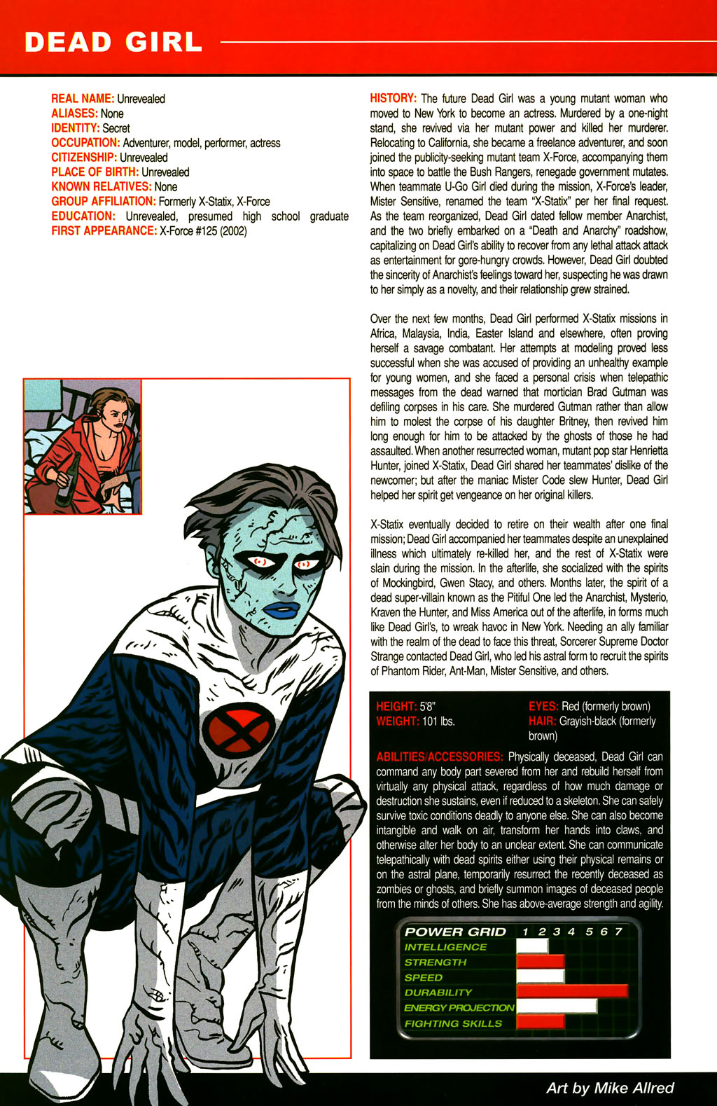 Read online All-New Official Handbook of the Marvel Universe A to Z comic -  Issue #3 - 26