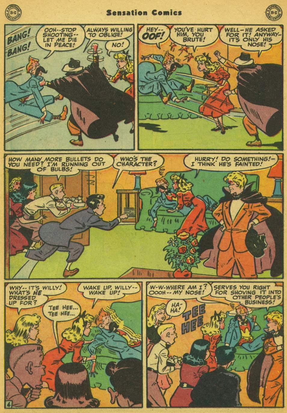 Read online Sensation (Mystery) Comics comic -  Issue #80 - 35