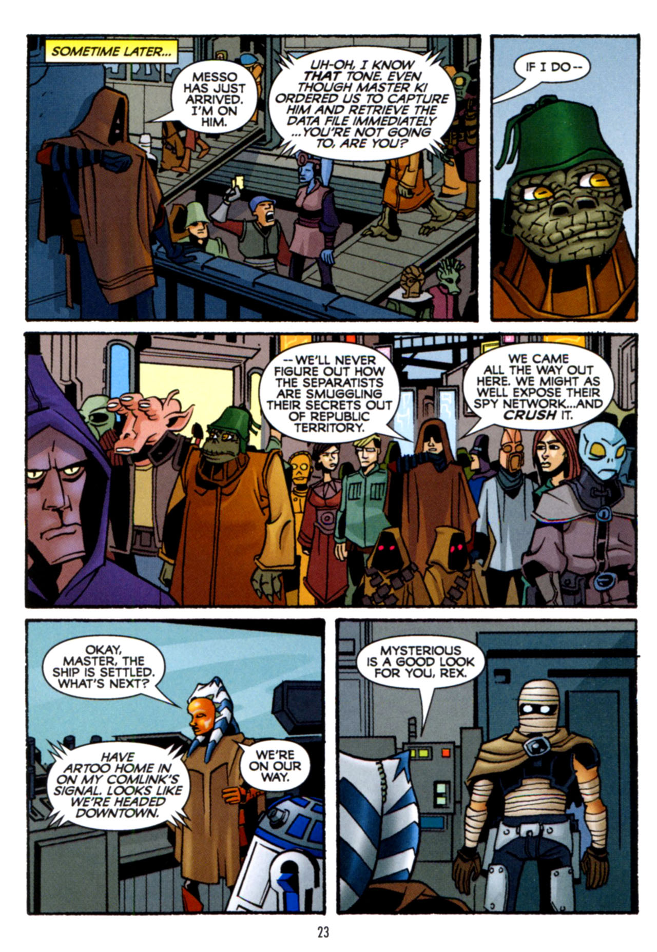 Read online Star Wars: The Clone Wars - Crash Course comic -  Issue # Full - 24