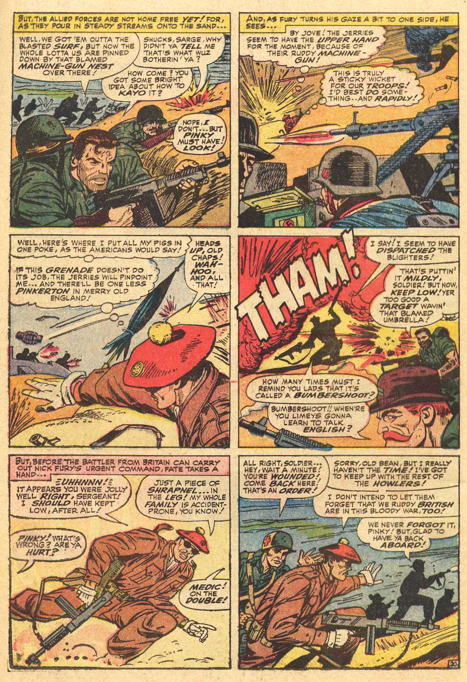 Read online Sgt. Fury comic -  Issue # _Special 2 - 22