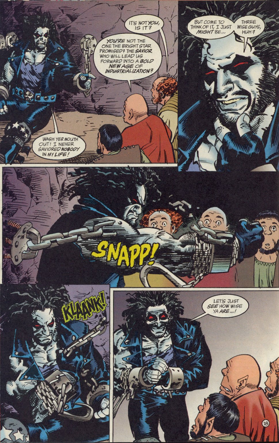 Read online Lobo: A Contract on Gawd comic -  Issue #1 - 19