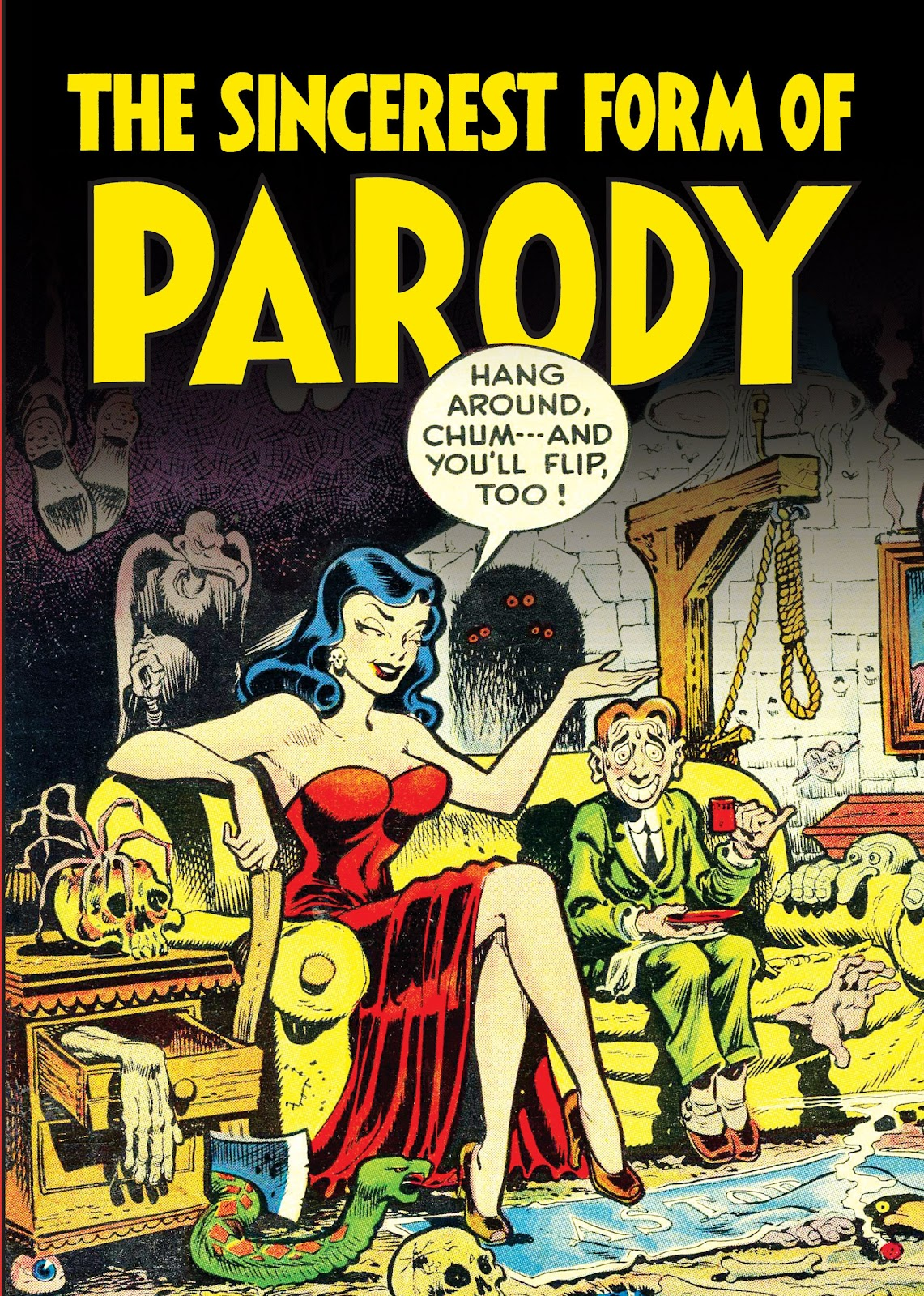 Read online Sincerest Form of Parody: The Best 1950s MAD-Inspired Satirical Comics comic -  Issue # TPB (Part 1) - 1