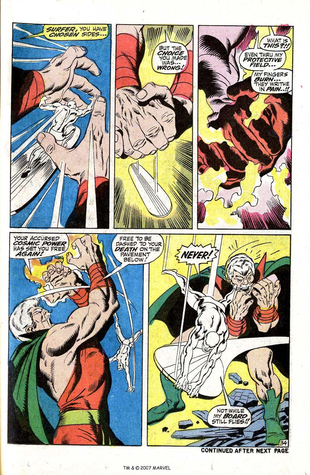 Read online Silver Surfer (1968) comic -  Issue #5 - 41
