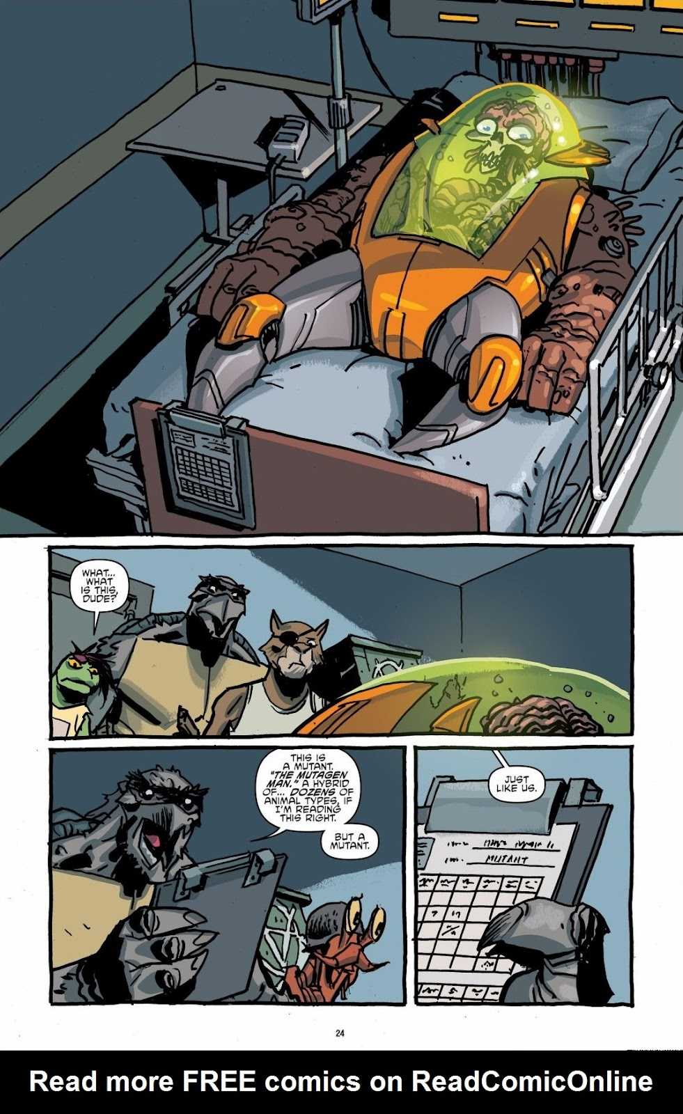 Read online Teenage Mutant Ninja Turtles: The IDW Collection comic -  Issue # TPB 6 (Part 1) - 23