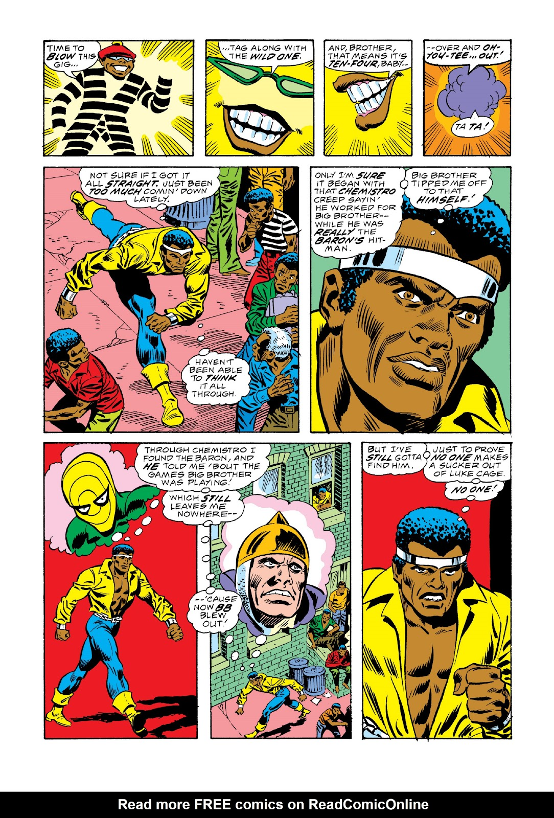 Read online Marvel Masterworks: Luke Cage, Power Man comic -  Issue # TPB 3 (Part 2) - 77