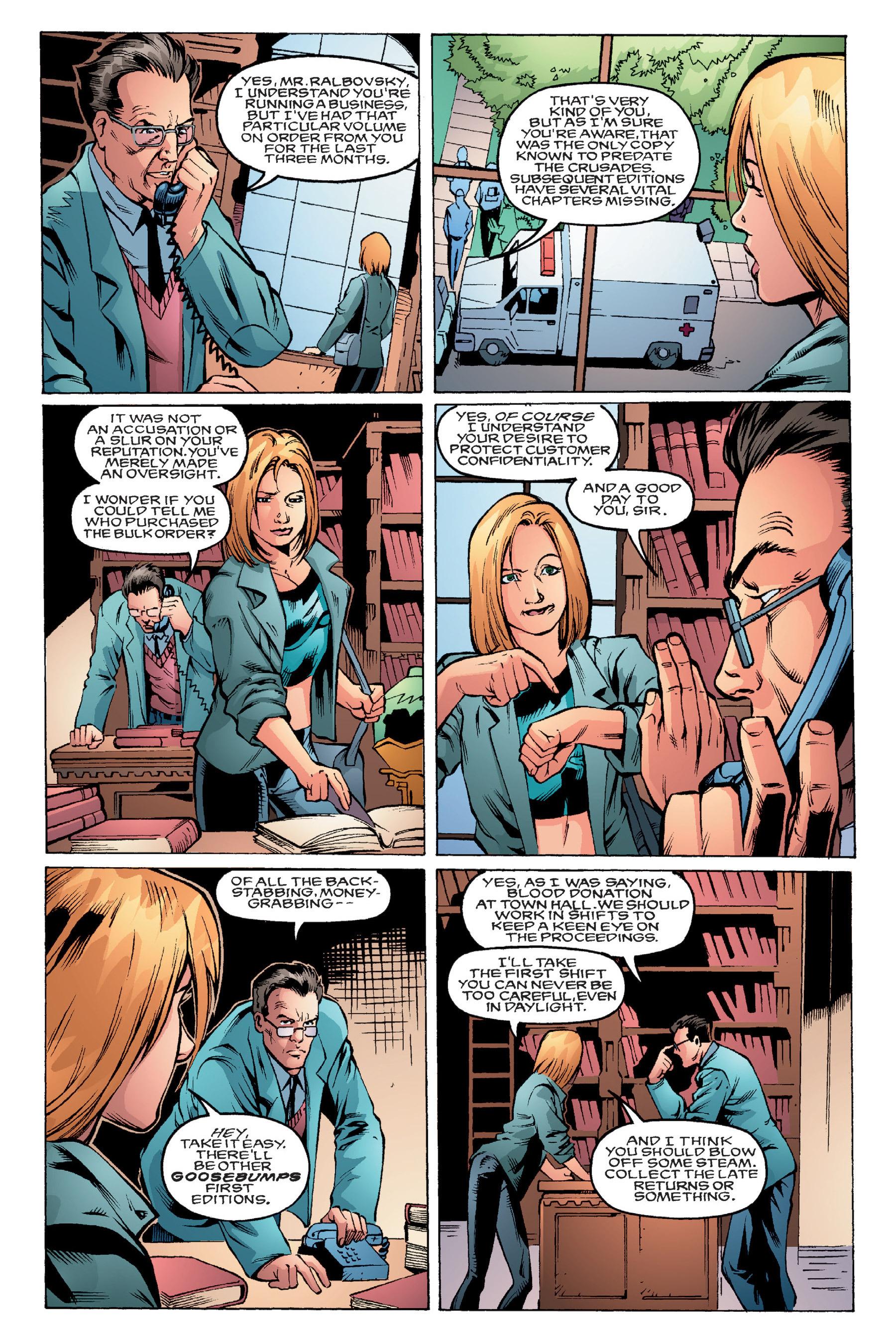 Read online Buffy the Vampire Slayer: Omnibus comic -  Issue # TPB 4 - 56