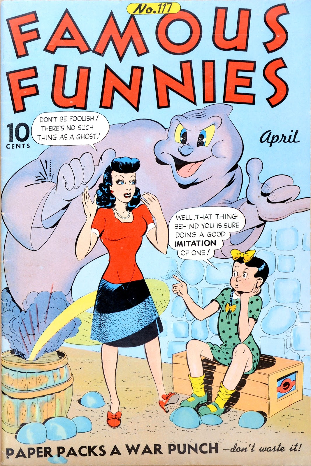 Read online Famous Funnies comic -  Issue #117 - 1