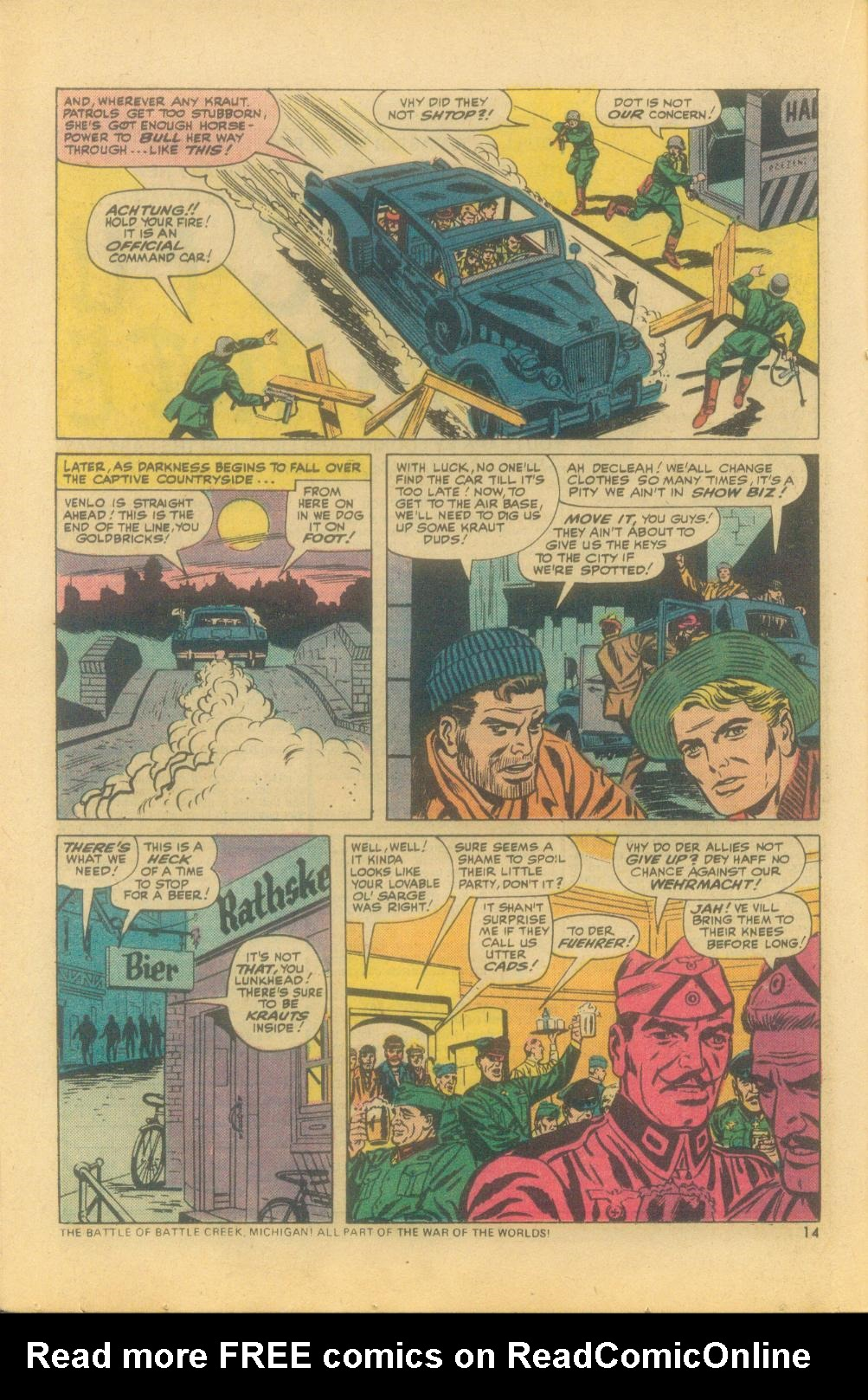 Read online Sgt. Fury comic -  Issue #121 - 16