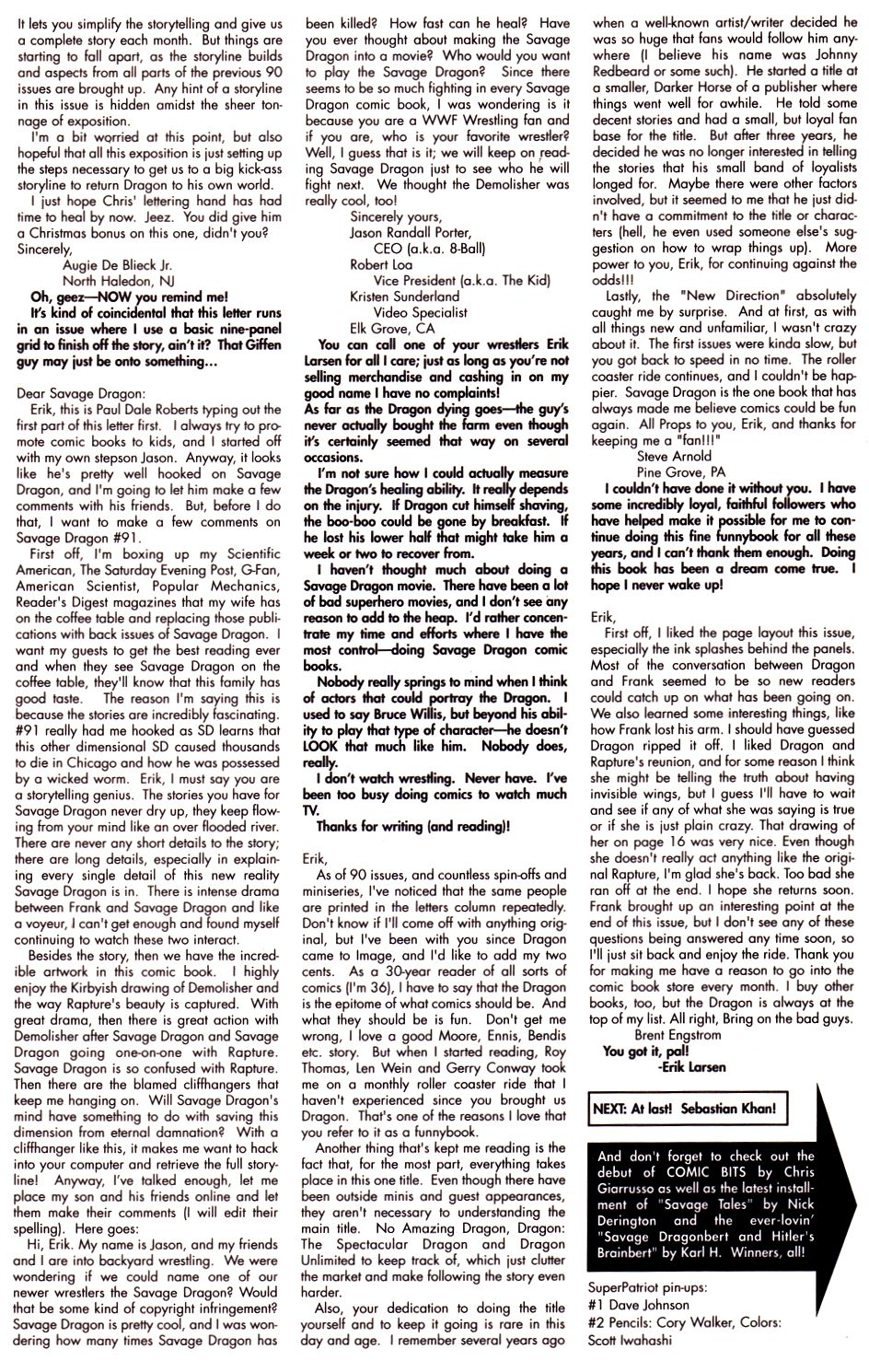 The Savage Dragon (1993) Issue #93 #96 - English 28