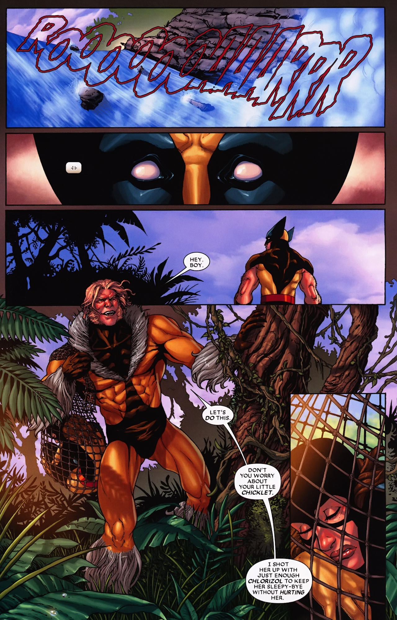 Read online Wolverine: First Class comic -  Issue #9 - 16