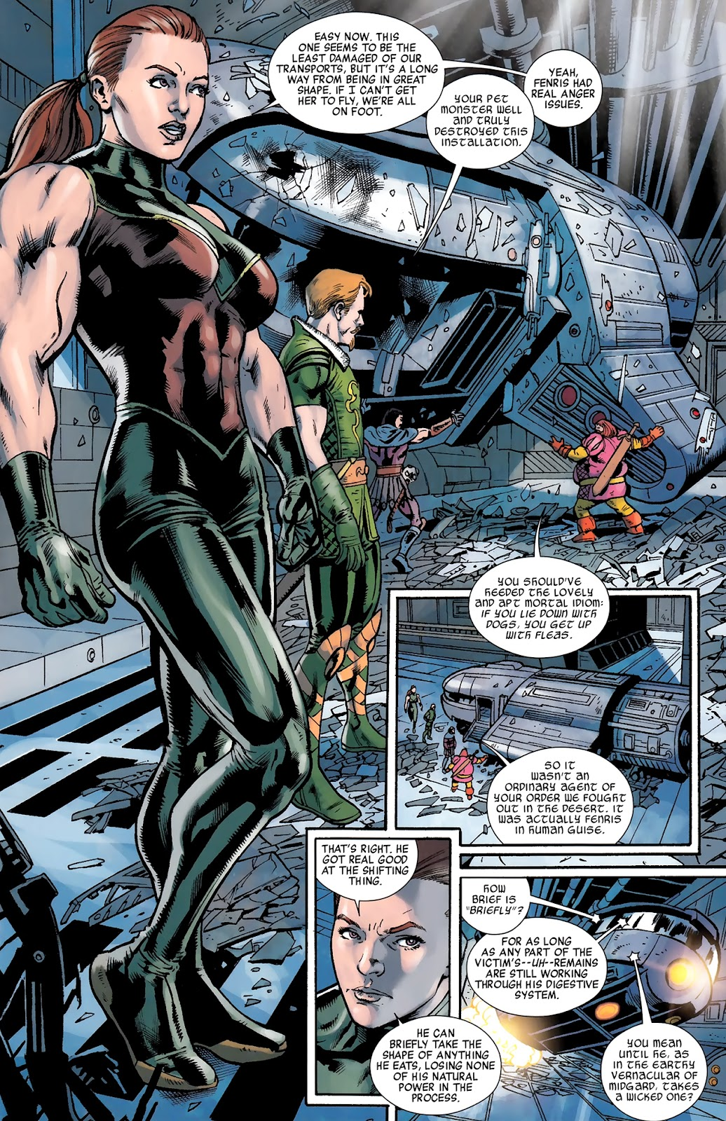 Warriors Three Issue #3 #3 - English 14