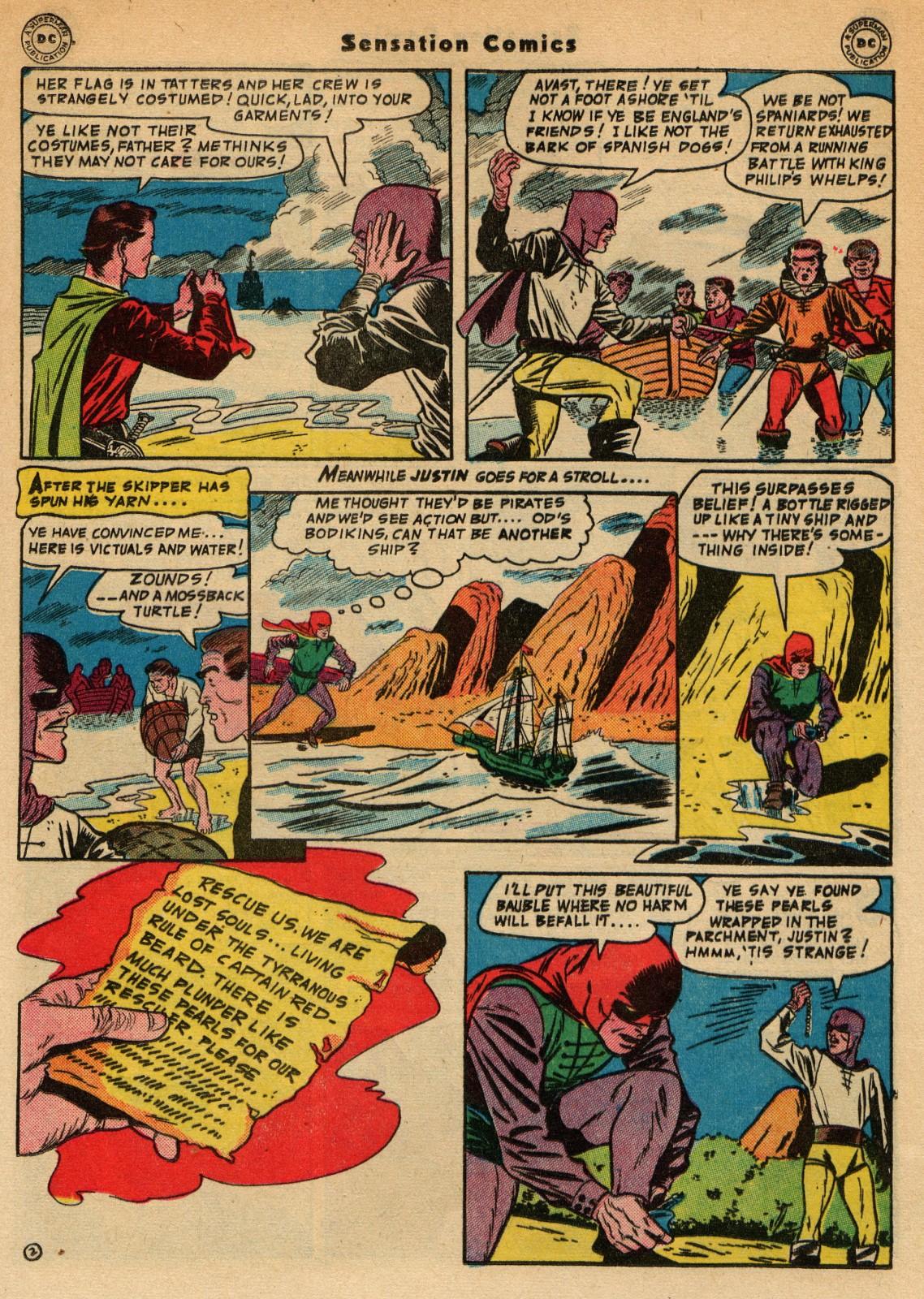 Read online Sensation (Mystery) Comics comic -  Issue #51 - 35