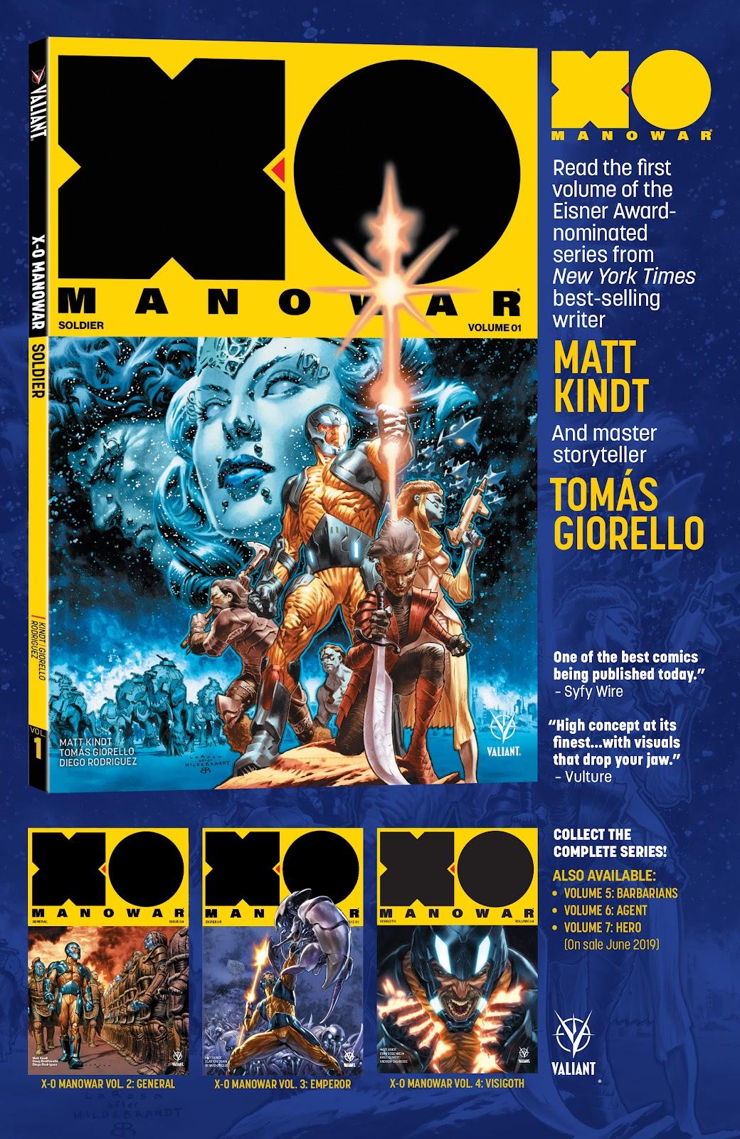 Read online X-O Manowar (2017) comic -  Issue #26 - 26