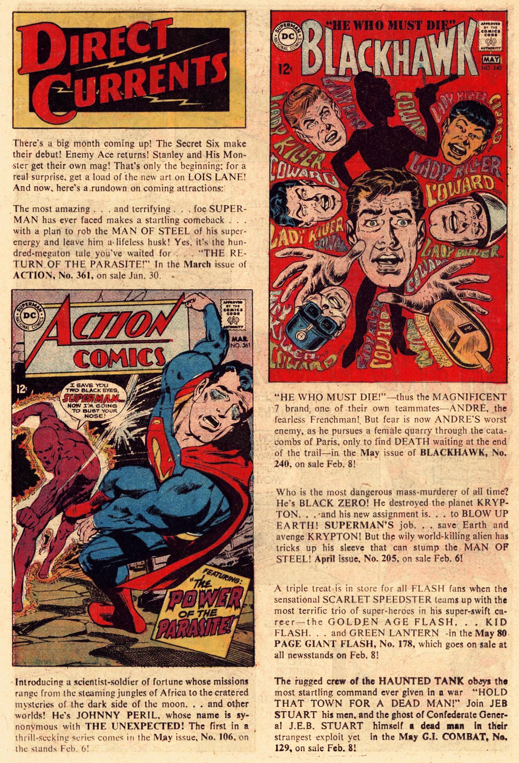 Read online Secret Six (1968) comic -  Issue #1 - 24