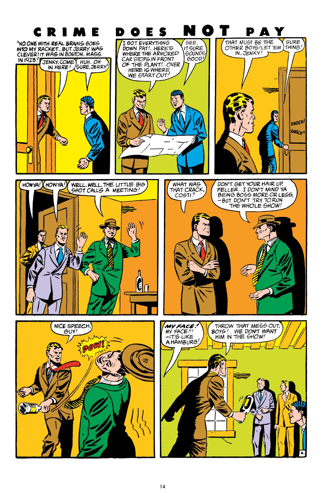 Read online Crime Does Not Pay Archives comic -  Issue # TPB 5 (Part 1) - 14