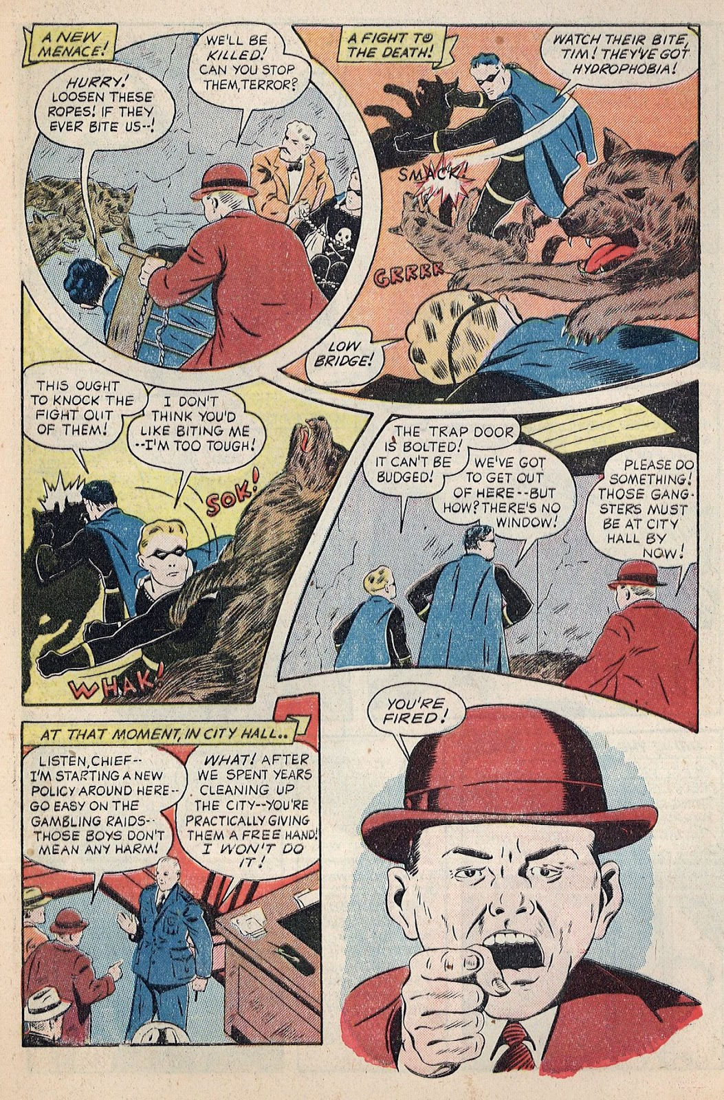 Exciting Comics (1940) issue 38 - Page 11