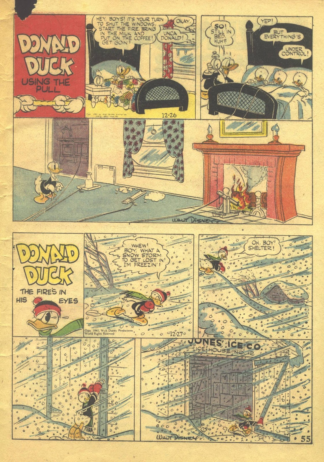 Walt Disney's Comics and Stories issue 39 - Page 57