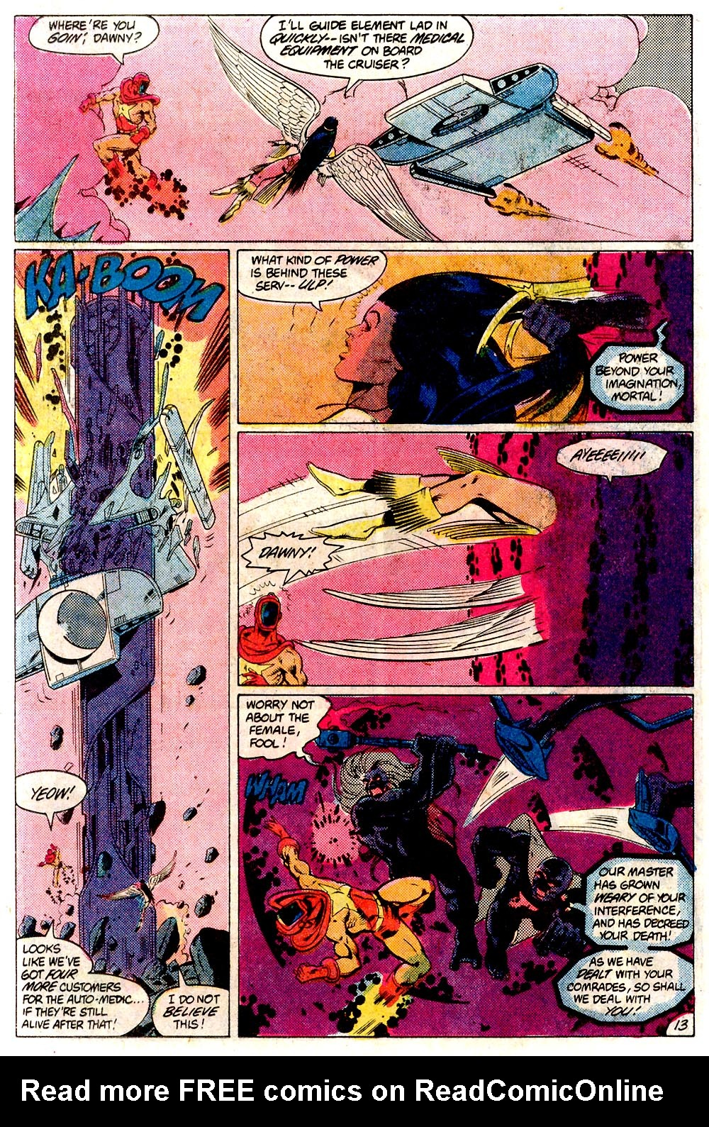 Legion of Super-Heroes (1980) 293 Page 13