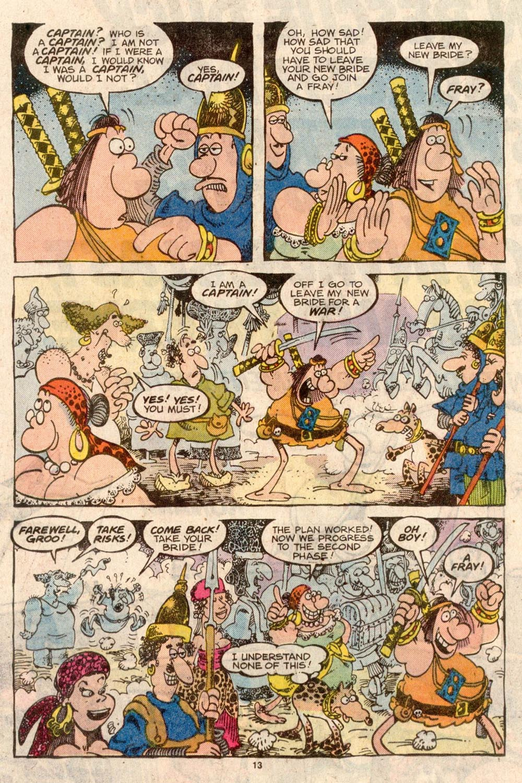 Read online Sergio Aragonés Groo the Wanderer comic -  Issue #42 - 13