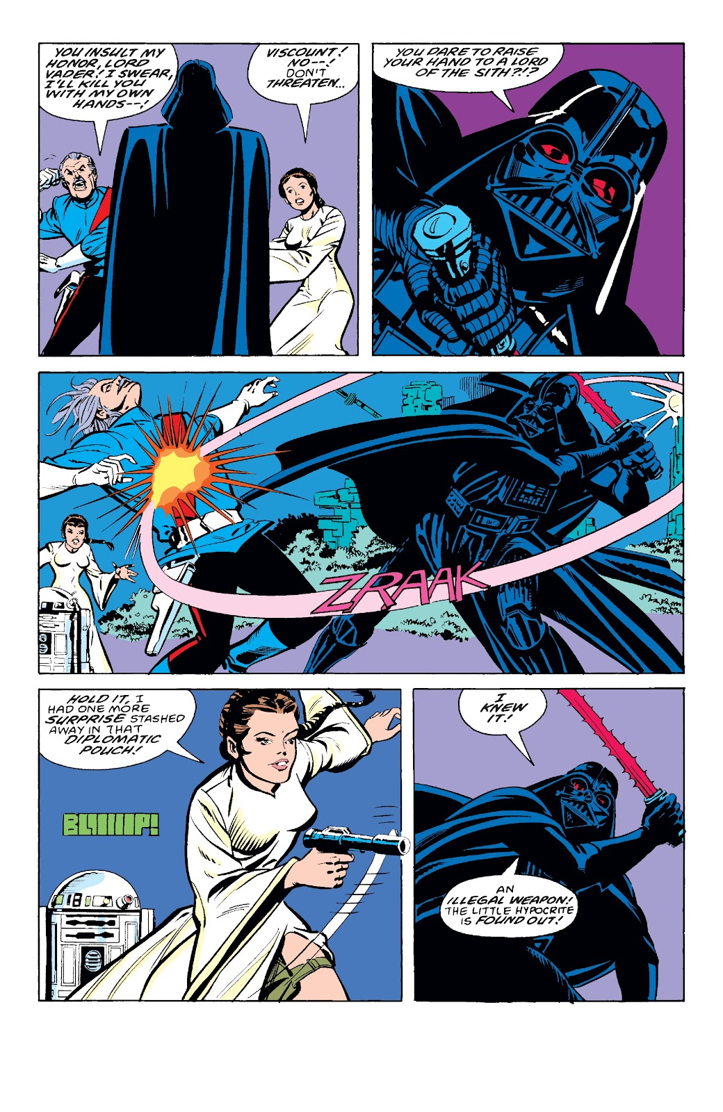 Read online Star Wars Legends: The Original Marvel Years - Epic Collection comic -  Issue # TPB 3 (Part 2) - 100