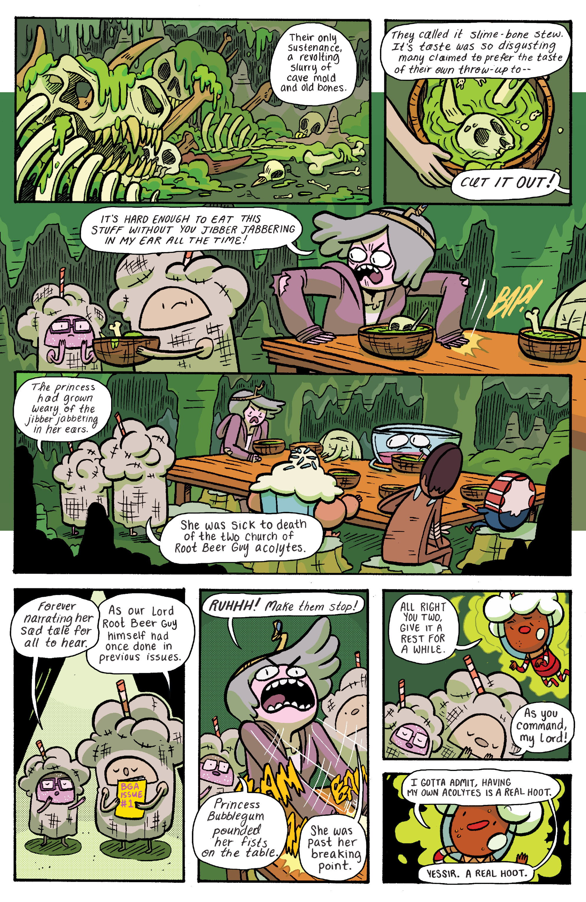 Read online Adventure Time: Banana Guard Academ comic -  Issue #6 - 4